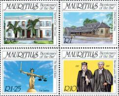 Ref. 162709 * NEW *  - MAURITIUS . 1987. BICENTENARIO DEL TRIBUNAL DE JUSTICIA - Mauricio (1968-...)