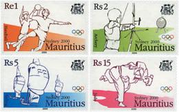 Ref. 81343 * NEW *  - MAURITIUS . 2000. GAMES OF THE XXVII OLYMPIAD. SYDNEY 2000. 27 JUEGOS OLIMPICOS VERANO SYDNEY 2000 - Mauricio (1968-...)