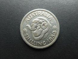 Australia 1 Shilling 1952 George VI - Moneda Pre-decimale (1910-1965)