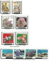 WALLIS ET FUTUNA N° 721 725 Oblitérés + 713 à 716 731 à 734 Neufs 2009 - 2010 - Wallis Y Futuna