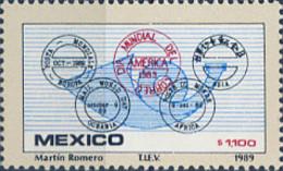 Ref. 343408 * NEW *  - MEXICO . 1989. WORLD DAY OF THE POST. DIA MUNDIAL DEL CORREO - Mexiko