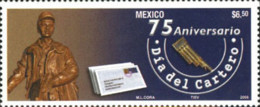Ref. 199805 * NEW *  - MEXICO . 2006. DAY OF THE POSTMAN. DIA DEL CARTERO - Mexiko