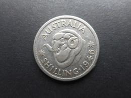 Australia 1 Shilling 1946 George VI - Moneda Pre-decimale (1910-1965)