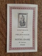 1919 Souvenir De Pèlerinage A Notre Dame De Quézac (Cantal) - Paul, Evèque De Saint Flour - Francia