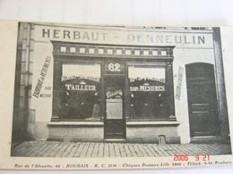 C.P.A.- Roubaix (59) - Devanture Magasin Tailleur De L'Alouette - Sur Mesures Herbaut Denneulin - 1920 - SUP (BC96) - Roubaix