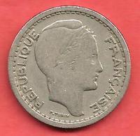 20 Francs , ALGERIE , Cupro-Nickel , 1949 , N° KM # 91 - Kolonien