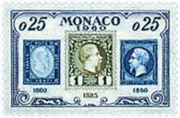 Ref. 34728 * NEW *  - MONACO . 1960. 75th ANNIVERSARY OF MONACO POST STAMP. 75 ANIVERSARIO DEL SELLO DE MONACO - Mónaco
