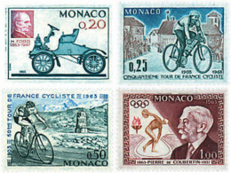 Ref. 70321 * NEW *  - MONACO . 1963. ANNIVERSARIES. ANIVERSARIOS - Monaco