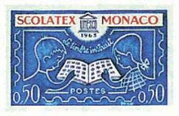 Ref. 32379 * NEW *  - MONACO . 1963. SCOLATEX NATIONAL PHILATELIC EXHIBITION. SCOLATEX. EXPOSICION FILATELICA NACIONAL - Monaco