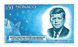 Ref. 67759 * NEW *  - MONACO . 1964. 1st ANNIVERSARY OF THE DEATH OF KENNEDY. 1 ANIVERSARIO DE LA MUERTE DE KENNEDY - Monaco