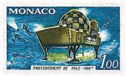 Ref. 32363 * NEW *  - MONACO . 1966. ANNIVERSARY OF SUBMARINE OPERATION SUBCONTINENT III. ANIVERSARIO DE LA OPERACION SU - Mónaco