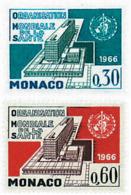 Ref. 32540 * NEW *  - MONACO . 1966. INAUGURATION OF W.H.O. HEADQUARTERS IN GENEVA. INAUGURACION DE LA SEDE DE LA OMS EN - Mónaco
