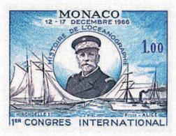 Ref. 32426 * NEW *  - MONACO . 1966. FIRST INTERNATIONAL CONGRESS ON OCEANOGRAPHY HISTORY. 1 CONGRESO INTERNACIONAL DE H - Mónaco
