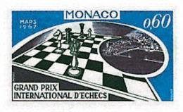 Ref. 32365 * NEW *  - MONACO . 1967. INTERNATIONAL CHESS GRAND PRIX. GRAN PREMIO INTERNACIONAL DE AJEDREZ - Monaco