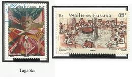 WALLIS ET FUTUNA N° 667 + 669 Oblitérés 2006 - Wallis Y Futuna