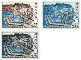 Ref. 67768 * NEW *  - MONACO . 1969. RAINIER III AQUATIC STADIUM. ESTADIO NAUTICO RAINIERO III - Mónaco