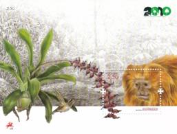 Portugal, 2010, 3494 Block 294,  Jahr Der Biodiversität : Löwenäffchen,  MNH ** - Blocs-feuillets