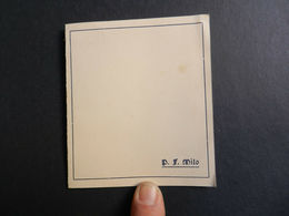 19916)  P.F. MILO ARIE CANZONI ROMANZE PER CANTO E CHITARRA INVITO FORMATO 9,5 X 11 Cm - Spartiti