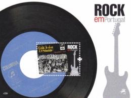 Portugal, 2010, 3557 Block 303, Rockmusik In Portugal: Plattencover.  MNH ** - Blocs-feuillets