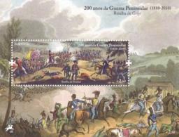 Portugal, 2010, 3560 Block 304, 3. Französischen Invasion In Portugal  MNH ** - Blocs-feuillets