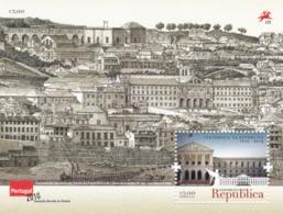 Portugal, 2010, 3564 Block 305, 100 Jahre Republik (I): Parlamentsgebäude,  MNH ** - Blocs-feuillets