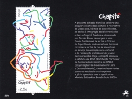 Portugal, 2010, 3571 Block 306, Zirkusschule Chapitoˆ,  MNH ** - Blocs-feuillets