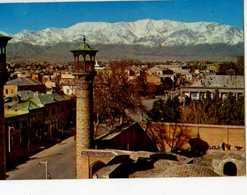 TEHRAN Minarets Os Sepahsalar Mosque Against The Tochal Mountains - United Arab Emirates