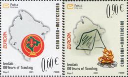 Ref. 243071 * NEW *  - MONTENEGRO . 2007. EUROPA CEPT. 100 YEARS OF SCOUTING. EUROPA CEPT. 100 A�OS DE ESCULTISMO - Montenegro