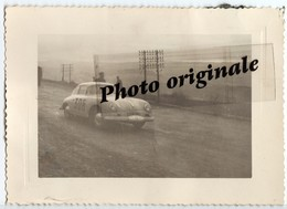 Photo Auto Voiture Automobile Car - Coupé PORSCHE 356 - Course ? Rallye ? Lieu ? - Automobiles