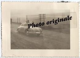 Photo Auto Voiture Automobile Car - Coupé PORSCHE 356 - Course ? Rallye ? Lieu ? - Automobili