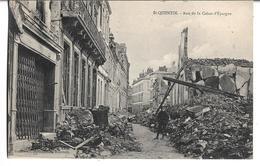 CPA  De  SAINT-QUENTIN  (02)  -  Rue  De  La  Caisse  D' Epargne    //   TBE - Saint Quentin