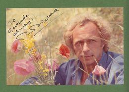 PIERRE RICHARD Original Signed Glossy Photo AUTOGRAPHE / AUTOGRAMM  10/15 Cm - Autographes