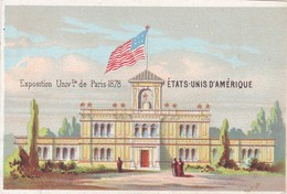 CHROMOS CHROMO - France -  Exposición Universal De París (1878) ÉTATS - UNIS D'AMÉRIQUE - Other