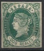Espagne N° 58 Neuf  1862 - 1850-68 Royaume: Isabelle II