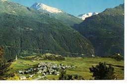 CPM, (73), AUSSOIS, Vue Générale, Pointe De La Scolette, Cime Du Grand Vallon, Jamais Voyagée - Altri Comuni