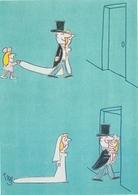 TREZ - Dessin De Presse - Série Illustrateurs Nugeron N'H 347 - Jeune Mariée - Trez