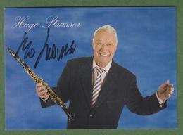 HUGO STRASSER Original Signed Photo AUTOGRAPHE / AUTOGRAMM  15/10 Cm  *BIG BAND* - Autographes