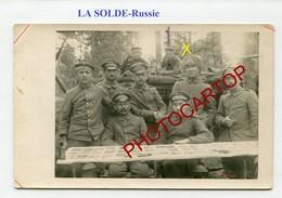 La SOLDE-Voile Anti Moustiques-RUSSIE-Non Situee-CARTE PHOTO Allemande-Guerre 14-18-1WK-Militaria-Feldpost- - Guerra 1914-18