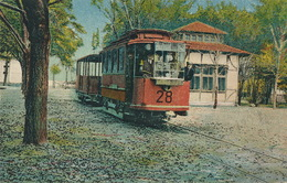 Tram Station Close Up  Edition Manea Stanescu Braila . Hungarian Stamp Magyar - Roumanie