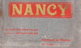54-CARNET DE 10 CPA DE NANCY - Nancy
