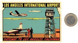 ETIQUETA    -LOS ANGELES INTERNATIONAL AIRPORT  -LOS ANGELES  -CALIFORNIA - Otros