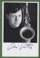 CHRIS POTTER Original Signed Glossy Photo AUTOGRAPHE / AUTOGRAMM  10/15 Cm  *JAZZ* - Autographes