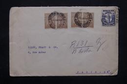 ANGOLA - Enveloppe Pour Paris En 1939, Affranchissement Plaisant - L 27801 - Angola