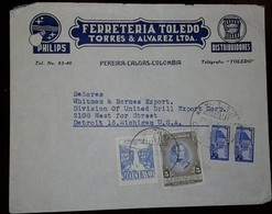 L) 1946 COLOMBIA, 150th ANNIVERSARY OF THE BIRTH OF ANTONIO JOSE DE SUCRE, GREAT MARISCAL DE AYACUCHO, COMMUNICATIONS PA - Colombia