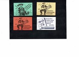 FRAL- LOT DE CARNETS SUISSE (x2) / ALGERIE (x2 +1) / ANDORRE / ST PIERRE & MIQUELON - Collections (without Album)