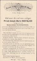 Nasbinals, Beverloo, 1938, Privat Hostalier, Valkenborghs - Images Religieuses