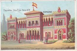 CHROMOS CHROMO - France -  Exposición Universal De París (1878) ESPAGNE - Vieux Papiers