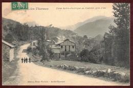 Ax-les-Thermes Usine Hydro électrique Au Castelet  * Ariège 09110 * Perles-et-Castelet *  Perles Et Castelet - Ax Les Thermes