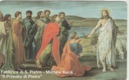 SCHEDA TELEFONICA NUOVA VATICANO SCV18 PRIMATO DI PIETRO - Vaticaanstad