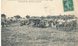 AM 892  / C P A  - BOURGTHEROULDE     (27) CONCOURS AGRICOLE 1er AOUT 1909 EXPOSITION DES MACHINES AGRICOLES - Bourgtheroulde